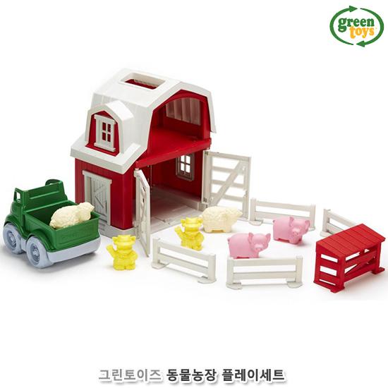 [더산아이]그린토이즈 동물농장 플레이세트