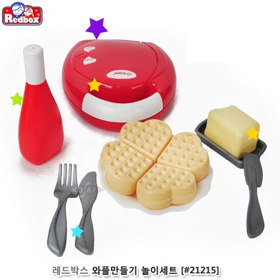 [더산아이]레드박스 와플만들기 놀이세트 (#21215)