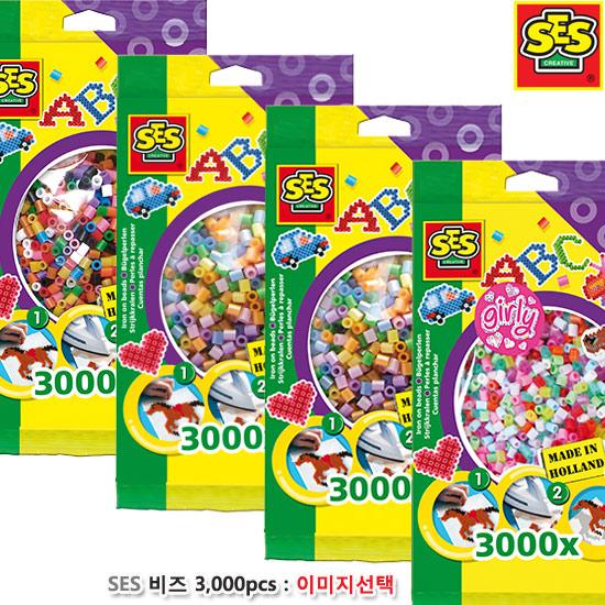[더산아이]SES 비즈 3/000pcs : 색상선택