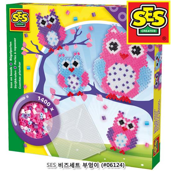 [더산아이]SES 비즈세트:부엉이 (#06124)