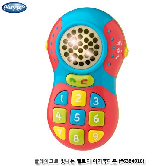 [더산아이]플레이그로 빛나는멜로디 아기휴대폰 (#6384018)