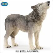 파포 (동물 모형완구) 울부짖는늑대 (#50171)